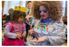 Teaches Kindergarteners to accept trannies